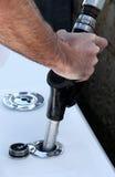 Combustível do barco Foto de Stock Royalty Free