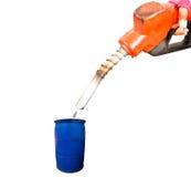 Combustível do bocal imagens de stock