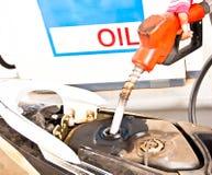 Combustível do bocal foto de stock