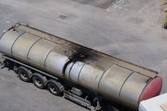 combustível do tanque Foto de Stock