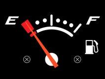 Fora do combustível ilustração royalty free