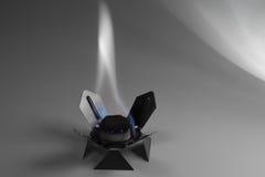Combustível seco ardente Imagens de Stock