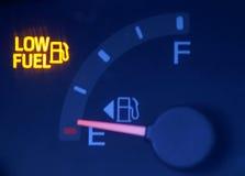 Combustibile basso Fotografie Stock