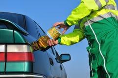 Combustibile biologico due immagine stock