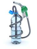 Combustible del agua Fotografía de archivo libre de regalías