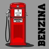 Combustible Pump_1 stock de ilustración
