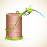 Combustible verde Imágenes de archivo libres de regalías