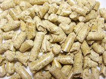 Combustible Wood Pellets royalty free stock image
