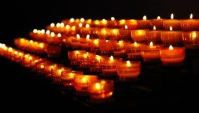 Combustion commémorative de lumières Image stock