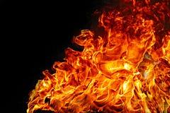 Combustion de flammes du feu photographie stock