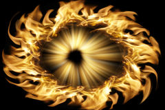 The combustion of the pupil Royalty Free Stock Photography