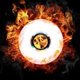 Combustione del CD Fotografie Stock Libere da Diritti