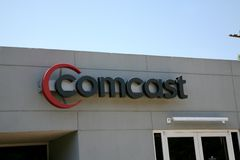 Comcast cabla Immagine Stock