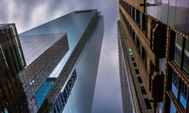 The Comcast Center, in downtown Philadelphia, Pennsylvania. Stock Photo