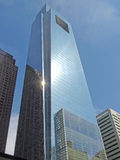 Comcast Center Philadelphia. The tallest building in Philadelphia, the Comcast Center with sunlight reflected in the glass Royalty Free Stock Photo
