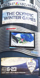 Comcast NBC Universal billboard decorated with Sochi 2014 XXII Olympic Winter Games logo near Times Square Stock Photos