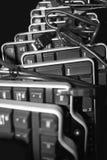Começ seus teclados de computador? fotografia de stock