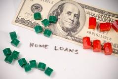 Começ um empréstimo hipotecario Foto de Stock