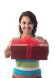 Começ um presente Imagem de Stock Royalty Free