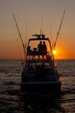 Começo adiantado para a pesca foto de stock royalty free