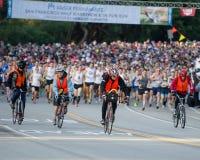 Começo da maratona de Kaiser meio Foto de Stock Royalty Free