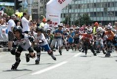 Começo da raça das crianças Foto de Stock Royalty Free