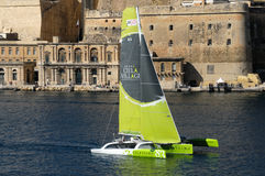 Começo da raça média do mar de Malta Rolex Foto de Stock