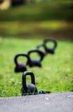 Começos da boa saúde com exercício Fotografia de Stock Royalty Free