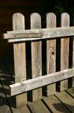 Come in ... Wooden garden gate stock photos