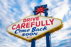 Come Back Soon royalty free stock photography