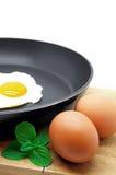 Come cucinare Fried Egg perfetto Immagine Stock Libera da Diritti