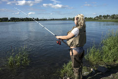 Come fishing Royalty Free Stock Photo