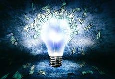 Come guadagnare soldi? Immagine Stock