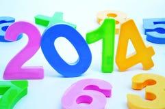 2014, come il nuovo anno Immagine Stock Libera da Diritti