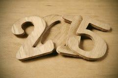 2015, come il nuovo anno Fotografia Stock Libera da Diritti