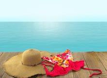 Come junta-se me para uma nadada no mar Imagens de Stock