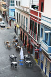 Come la gente vive in Las Palmas Immagine Stock