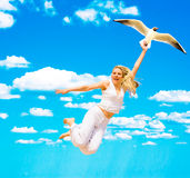 Come on, let's fly! Stock Photo