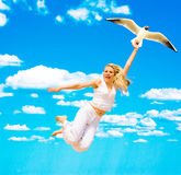 Come on, let's fly! Royalty Free Stock Images