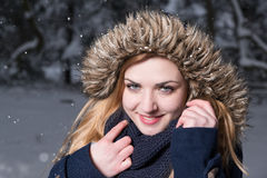 Come on, let us playing in the snow! Royalty Free Stock Photo