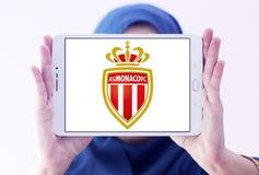 COME logo del club di calcio del Monaco Immagine Stock