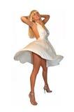 Come Marilyn Fotografia Stock Libera da Diritti