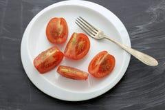 Come perdere peso - pomodoro Immagini Stock