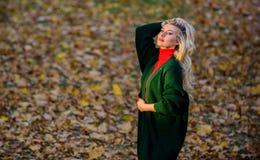 Come prendere cura dei vostri capelli in autunno Come la riparazione ha candeggiato velocemente e sicuro i capelli Cura di capell fotografia stock libera da diritti