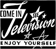 Come In See Television Stock Photos