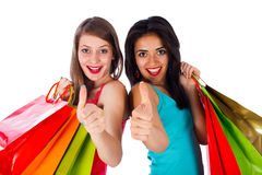 Come Shopping With Us Royalty Free Stock Images