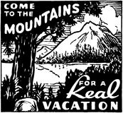 Come To The Mountains Royalty Free Stock Image