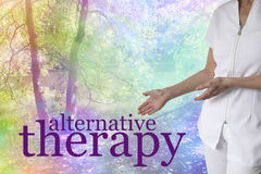 Come and try our Alternative Therapies Royalty Free Stock Images