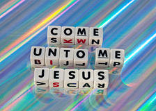 Come unto me Royalty Free Stock Photo