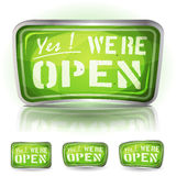 Come In Were Open Sign Royalty Free Stock Images